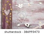 first communion invitation card ... | Shutterstock . vector #386993473