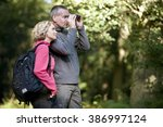 A Mature Couple Standing In Th...