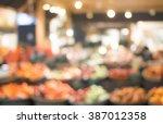 blurred background of fresh... | Shutterstock . vector #387012358