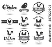 labels and badges set of... | Shutterstock .eps vector #387020503