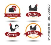 labels and badges set of... | Shutterstock .eps vector #387020530