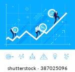 flat design vector illustration ... | Shutterstock .eps vector #387025096