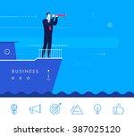 flat design vector concept... | Shutterstock .eps vector #387025120