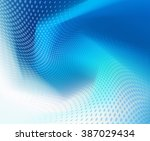 abstract .jpg dark blue wave... | Shutterstock . vector #387029434