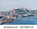 panorama of vladivostok  russia   Shutterstock . vector #387038716