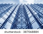 facade of modern office building   Shutterstock . vector #387068884