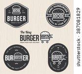 set of badges  banner  labels... | Shutterstock .eps vector #387081829