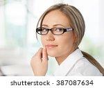 glasses. | Shutterstock . vector #387087634