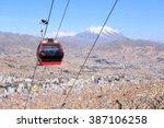 la paz  bolivia | Shutterstock . vector #387106258