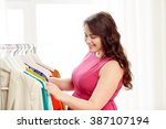 clothing  fashion  style and... | Shutterstock . vector #387107194