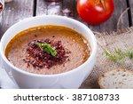 turkish traditional lentil...   Shutterstock . vector #387108733