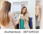 shopping  fashion  style ... | Shutterstock . vector #387109210