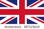 uk flag | Shutterstock .eps vector #387123610
