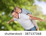 father. | Shutterstock . vector #387137368