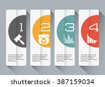 infographic icon design  | Shutterstock .eps vector #387159034