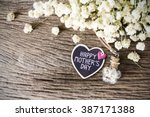 happy mothers day | Shutterstock . vector #387171388