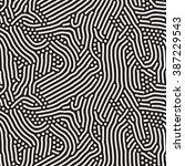 vector seamless black and white ...   Shutterstock .eps vector #387229543