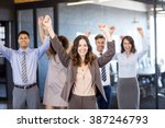 successful business team...   Shutterstock . vector #387246793