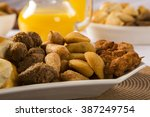 mixed brazilian snack.  | Shutterstock . vector #387249754