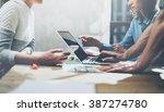 team succes concept.... | Shutterstock . vector #387274780