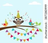 Vector Happy Birthday Greeting...