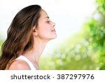 breathe. | Shutterstock . vector #387297976