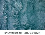 waving  blue water surface | Shutterstock . vector #387334024