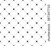 black veil seamless pattern on... | Shutterstock .eps vector #387347710