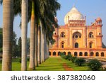 tomb of safdarjung in new delhi ... | Shutterstock . vector #387382060