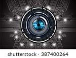 dark black color light abstract ...   Shutterstock .eps vector #387400264