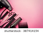 Hairdresser Set With Various...