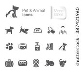Pet   Animal Related Icons.