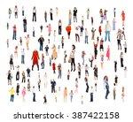 people diversity achievement... | Shutterstock . vector #387422158
