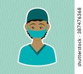 medical care design | Shutterstock .eps vector #387476368