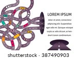 vector illustration with... | Shutterstock .eps vector #387490903