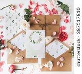 Workspace. wedding invitation...