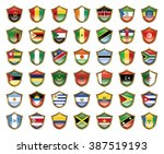 illustration of the national... | Shutterstock . vector #387519193