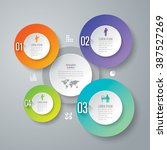 infographic design template can ... | Shutterstock .eps vector #387527269