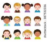 vector illustration set of... | Shutterstock .eps vector #387532336