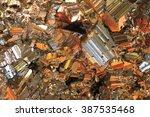 chalcopyrite texture as very... | Shutterstock . vector #387535468