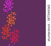 floral  seamless pattern ... | Shutterstock .eps vector #387544360