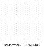 vector dots pattern isolated on ... | Shutterstock .eps vector #387614308