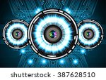 dark blue light abstract... | Shutterstock .eps vector #387628510