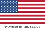united states flag | Shutterstock .eps vector #387636778