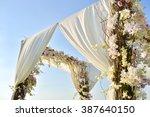 wedding set up | Shutterstock . vector #387640150