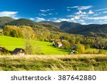 mountain village as marvelous... | Shutterstock . vector #387642880