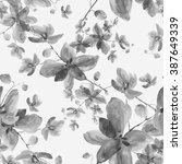 watercolor seamless pattern...   Shutterstock . vector #387649339