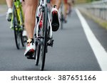 cycling competition view from... | Shutterstock . vector #387651166