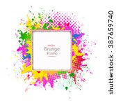 abstract background  grunge... | Shutterstock .eps vector #387659740