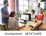 business  startup and people... | Shutterstock . vector #387671683